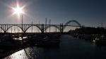 Yaquina Bay Bridge in Newport Oregon